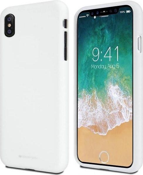 Mercury Nakładka Soft do Huawei Y5 2018 biała 1