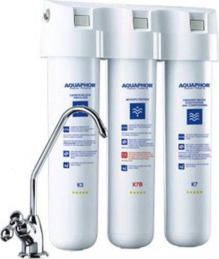 Aquaphor Filtr zmiękczający wodę Kryształ B ECO z mikrofiltracją (K3, K7B, K7) 1