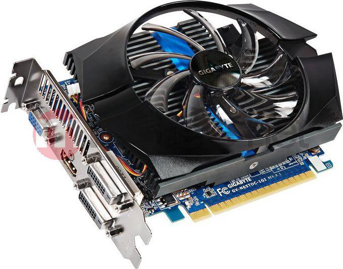 Karta graficzna Gigabyte GeForce GTX 650 Ti, 1GB DDR5 (128 Bit), HDMI, DVI, BOX GV-N65TOC-1GI 1