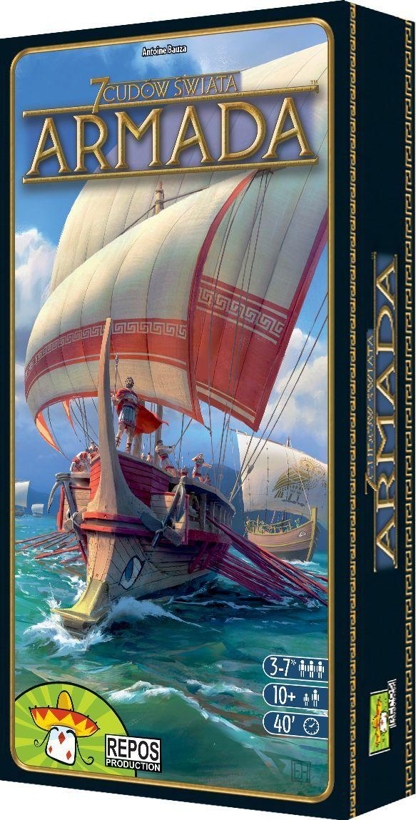 Rebel Gra planszowa 7 Cudów Świata: Armada 1