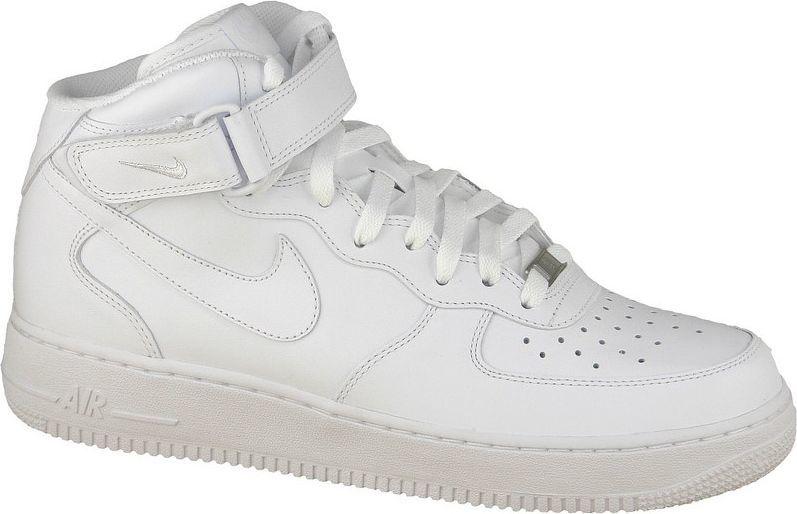 Nike Buty sportowe Air Force 1 Mid 07 białe - rozmiar 45 (315123-111) w  Sklep-presto.pl d63be72c7ec0