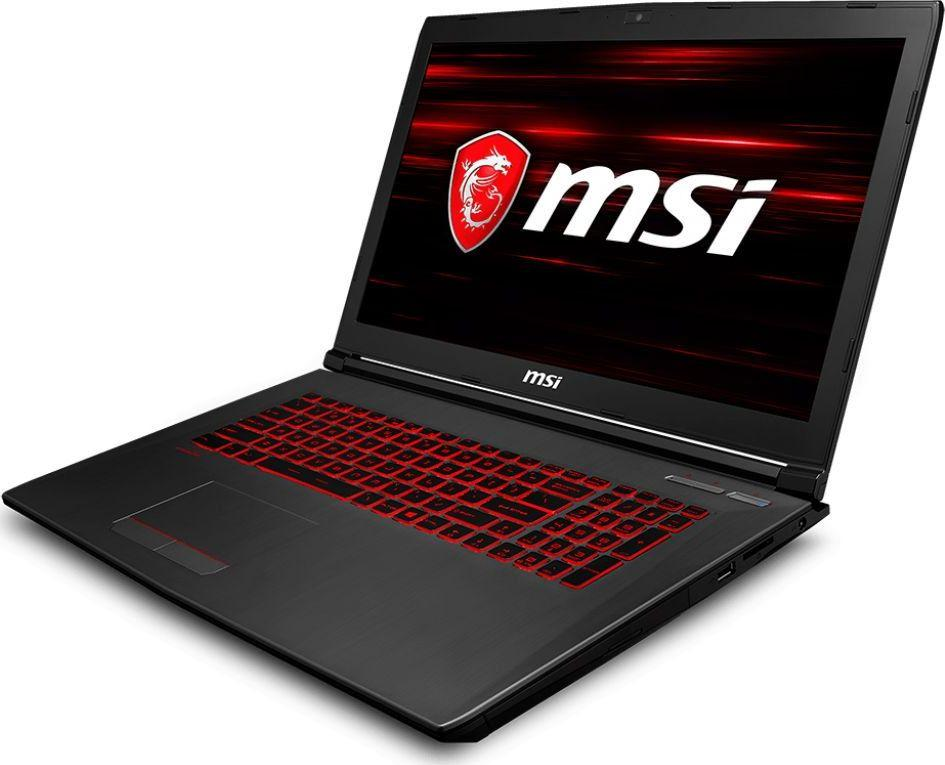 Laptop MSI GV72 8RC-045XPL 8 GB RAM/ 256 GB M.2 PCIe/ 256 GB SSD/ Windows 10 Pro 1