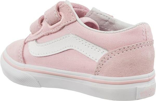 Vans Vans TD OLD SKOOL V SUEDE CANVAS Q7K CHALK PINK TRUE WHITE ID produktu: 5263207