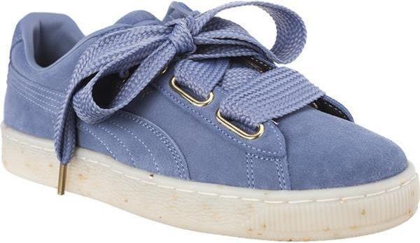 Puma Buty dziecięce Suede Heart Celebrate niebieskie r. 38.5 (36556103) ID produktu: 5263286