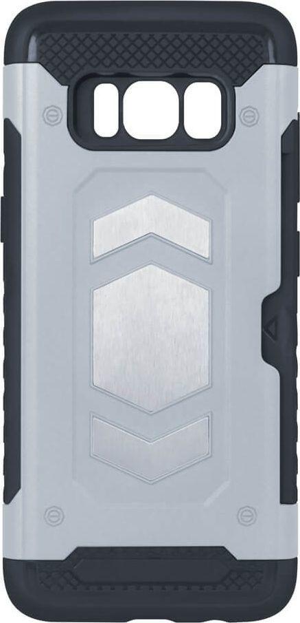 TelForceOne Nakładka Defender Magnetic do iPhone 7 Plus / 8 Plus srebrna 1