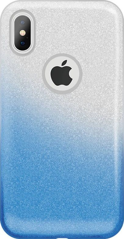 TelForceOne Nakładka Gradient Glitter 3in1 do iPhone 6 / iPhone 6s niebieska 1
