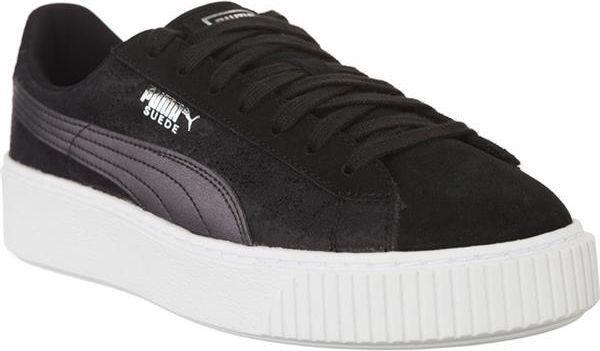 Czarne Różowe Zamszowe Buty Sportowe Puma r.36