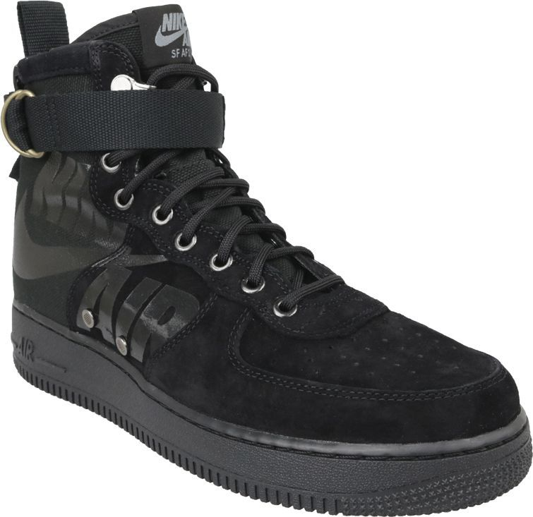 tani największa zniżka najnowszy projekt Nike buty męskie Air Force 1 SF Mid czarne r. 41 (917753-008) ID produktu:  5270186