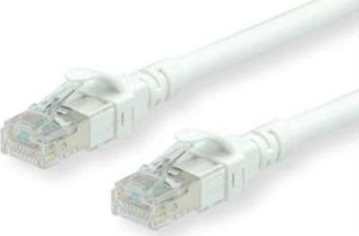 Roline Patchcable - RJ-45-50 cm - UTP - CAT 6 - bialy (21.15.2560) 1