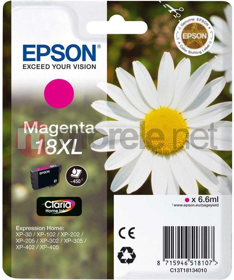 Epson tusz T1813 (C13T18134010) Magenta 1