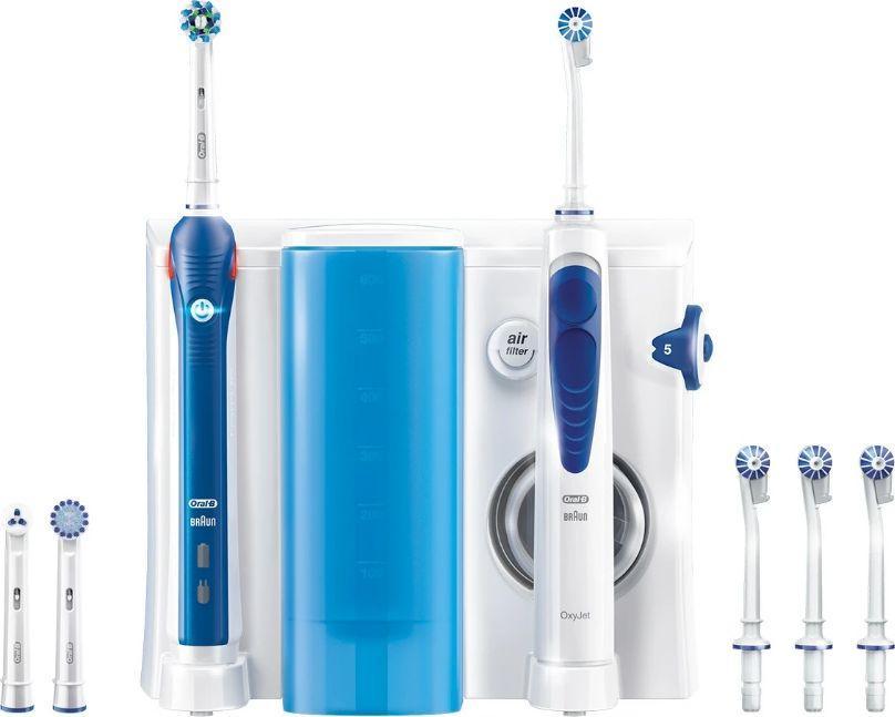 Oral-B Szczoteczka elektryczna PRO 2 2000 CrossAction + Irygator Oxyjet 1