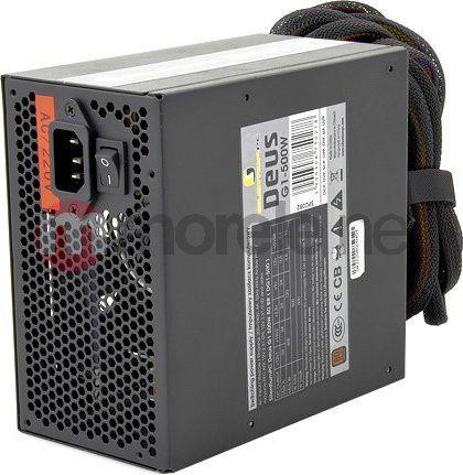 Zasilacz SilentiumPC Deus 500W PSU 80Plus Bronze 4xPEG (SPC082) 1