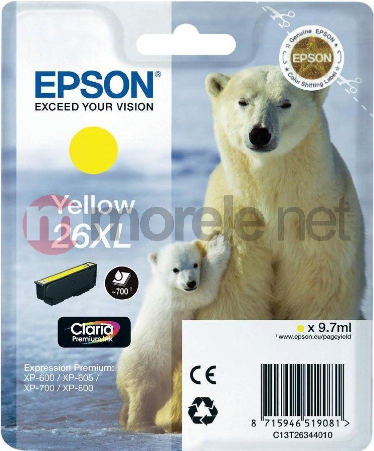 Epson tusz C13T26344010 nr 26 (yellow) 1