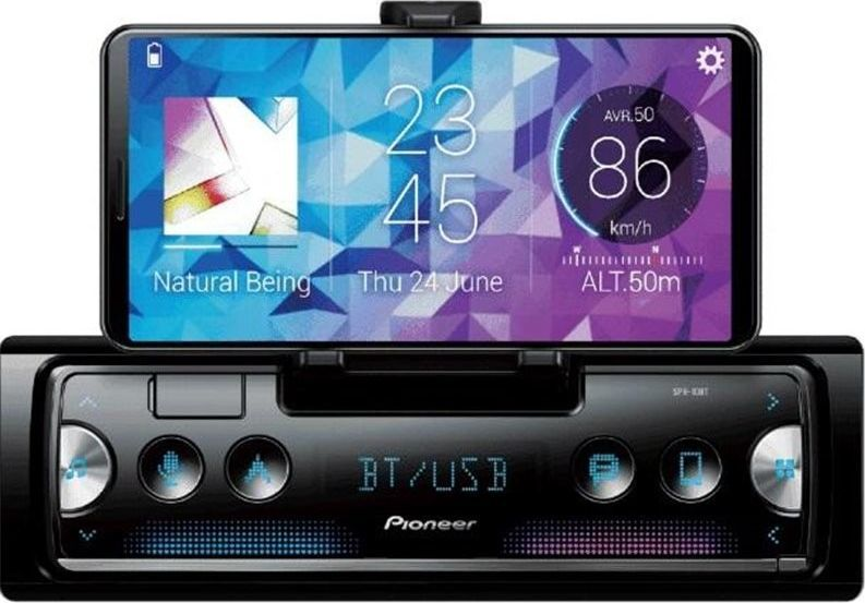 Radio samochodowe Pioneer SPH-10BT, iPhone, Android dock 1