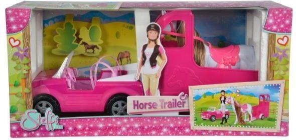 Simba Lalka Steffi z koniem i samochodem (104667892) ID produktu: 5294731