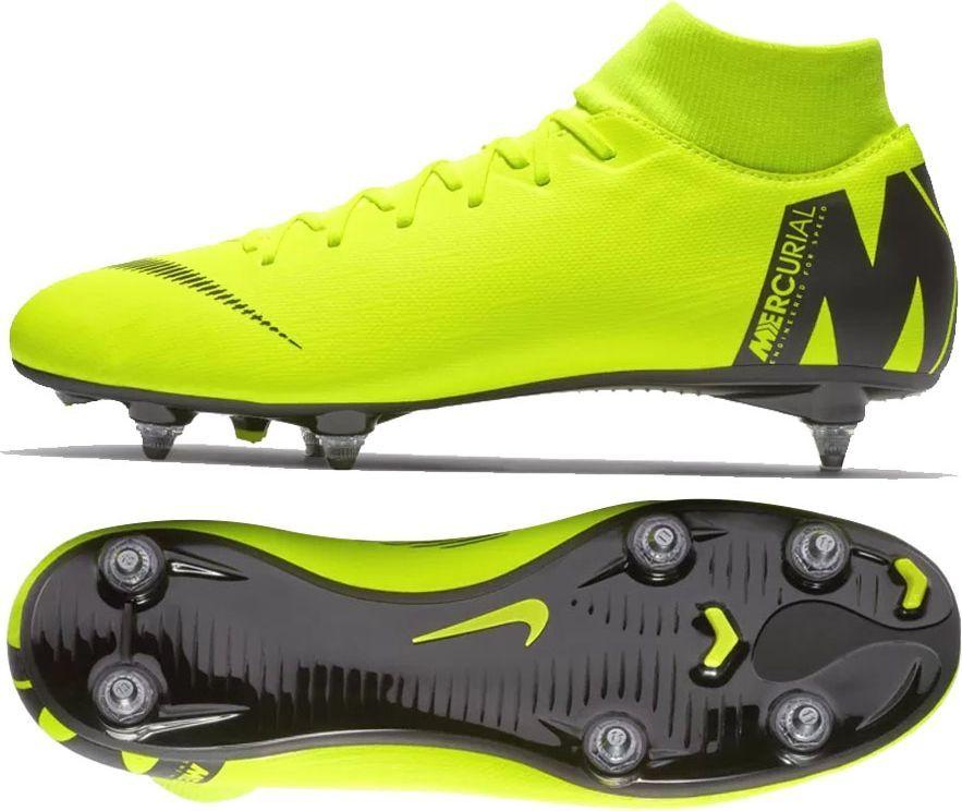 Buty piłkarskie Nike Mercurial Neymar Superfly 6 Academy Mg M AO9466 710 żółty żółte