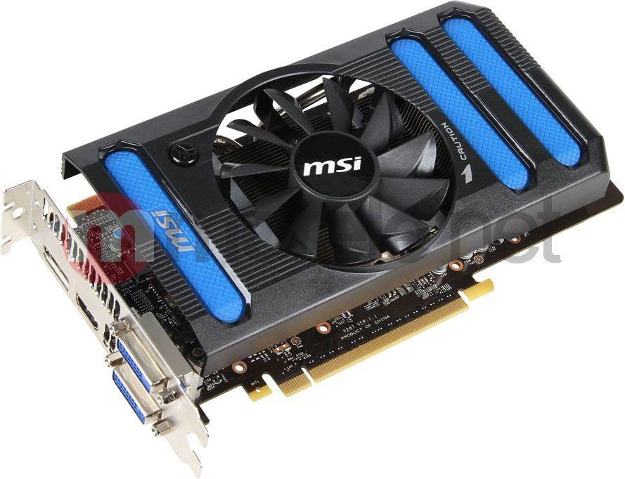 Karta graficzna MSI GeForce GTX 660, 2GB DDR5 (192 Bit) OC, HDMI, DVI, DP (N660-2GD5/OC) 1
