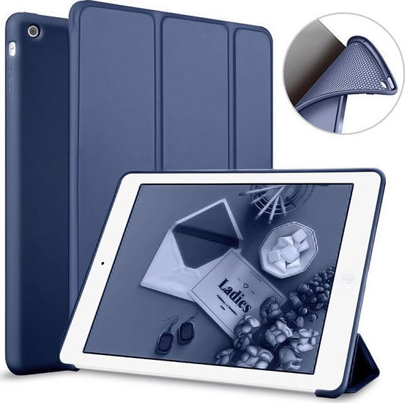 Etui do tabletu Alogy Etui Alogy Smart Case Apple iPad Air Granatowe 1