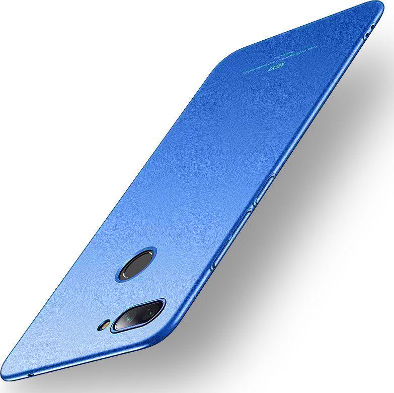 MSVII Etui Simple Xiaomi Mi 8 Lite niebieskie 1