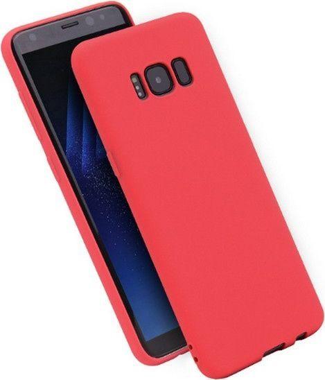 Etui Candy Samsung A730 A8 Plus 2018 cze rwony/red 1