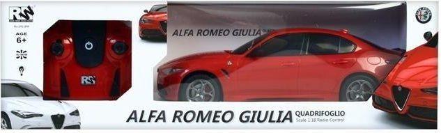 Mega Creative Auto Zdalnie Sterowane Alfa Romeo Giulia 1