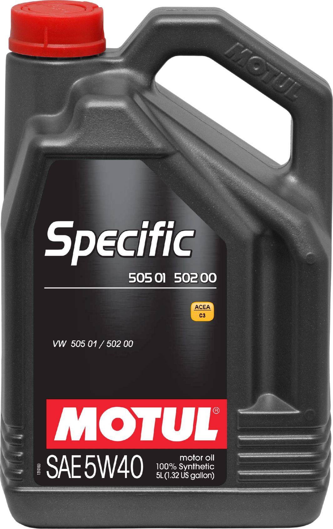 Olej silnikowy Motul Specific syntetyczny 5W-40 5L 1