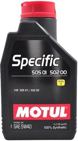 Olej silnikowy Motul Specific syntetyczny 5W-40 1L 1
