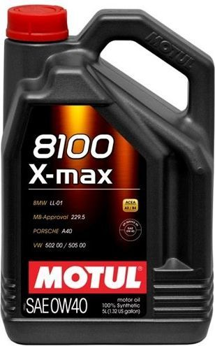 Olej silnikowy Motul 8100 X-Max syntetyczny 0W-40 5L 1