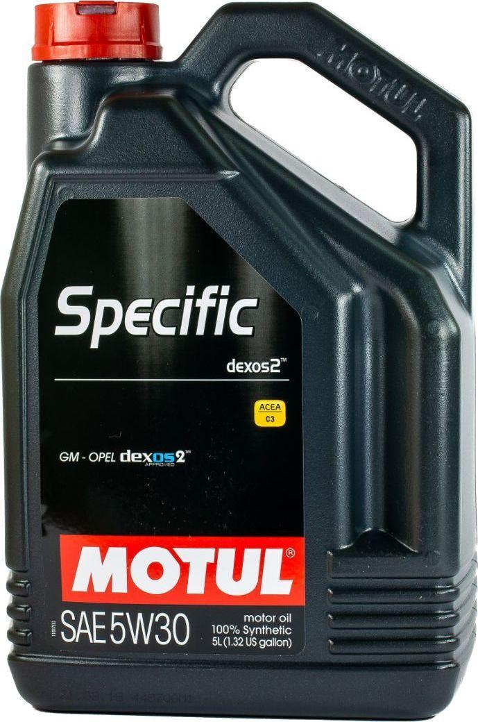 Olej silnikowy Motul OLEJ MOTUL 5W30 5L SPECIFIC DEXOS2 1