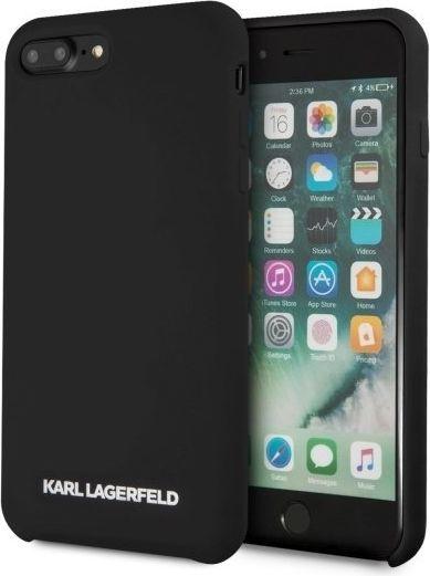 Karl Lagerfeld Etui KLHCI8LSLBKS iPhone 7/8 Plus czarne 1