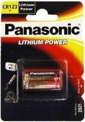 Panasonic Bateria Lithium Power CR123 1szt. 1