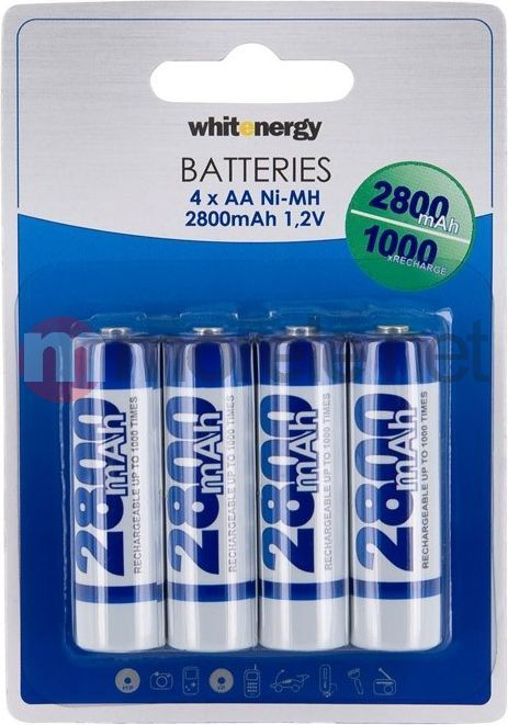 Whitenergy Akumulator AA / R6 2800mAh 4szt. 1