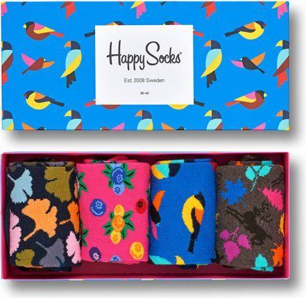 Happy Socks Happy Socks Giftbox (4-pary) XFOR09-8000 - Zestaw Skarpet 1