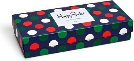 Happy Socks Happy Socks Giftbox (4-pary) XBDO09-4000 - Zestaw Kolorowych Skarpetek 1