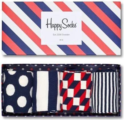 Happy Socks Happy Socks Giftbox (4-pary) XBDO09-6000 - Kolorowe Skarpetki 1