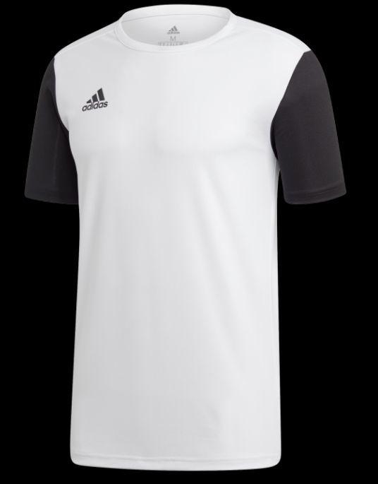 Adidas Koszulka piłkarska Estro 19 JSY Junior biała r. 128 (DP3234) ID produktu: 5317612