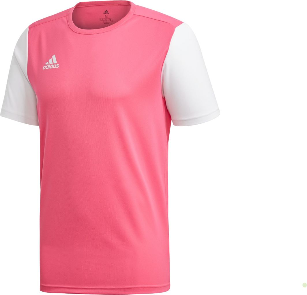 Adidas Koszulka piłkarska Estro 19 JSY Junior różowa r. 128 (DP3237) ID produktu: 5317672