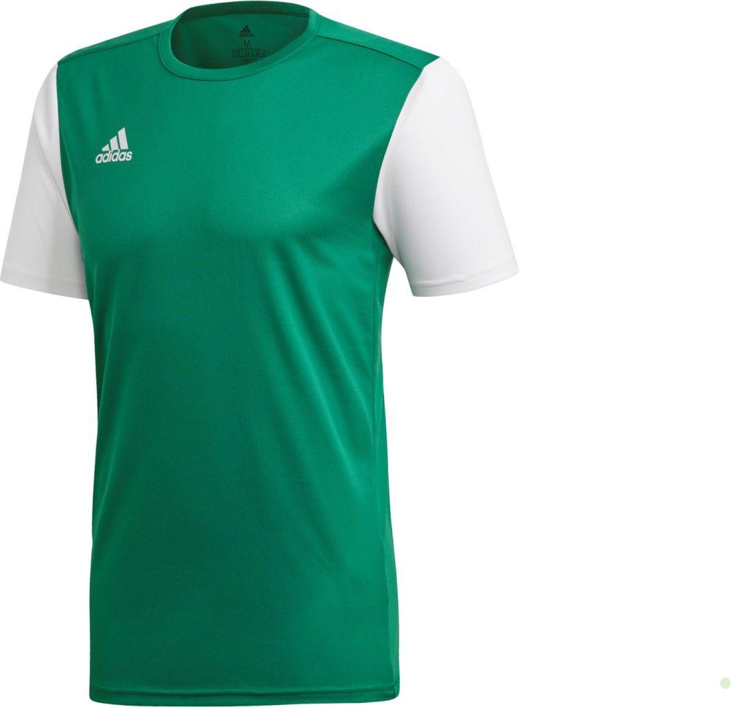 7c57b0345384c7 Adidas Koszulka piłkarska Estro 19 JSY Junior zielona r. 140 (DP3238) w  Sklep-presto.pl