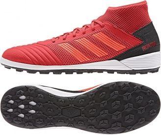 Adidas Buty piłkarskie Predator 19.3 TF czerwone r. 42 (D97962) ID produktu: 5318610