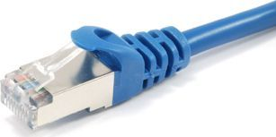 Equip Patchcord Cat 6a, SFTP, 1m, niebieski (606203) 1