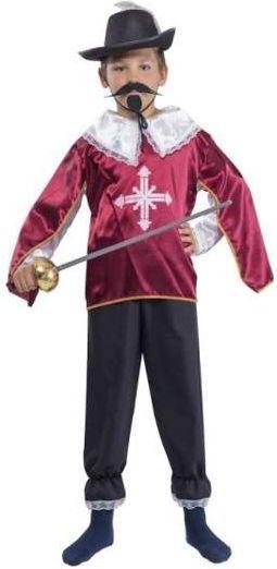 7b330f753b4ad2 Aster Muszkieter bordowy kostium i przebranie dla dzieci w Hulahop.pl