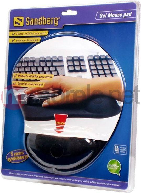 Podkładka Sandberg Gel Mousepad with Wrist Rest (520-23) 1