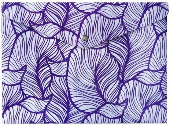 Incood Teczka A4 fioletowe Liście 1