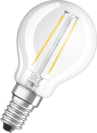 Osram OSRAM LED Filament STAR ClasP 230V 1,4W 827 E14 noDIM A++ Sklo čiré 136lm 2700K 15000h (blistr 1ks) 1