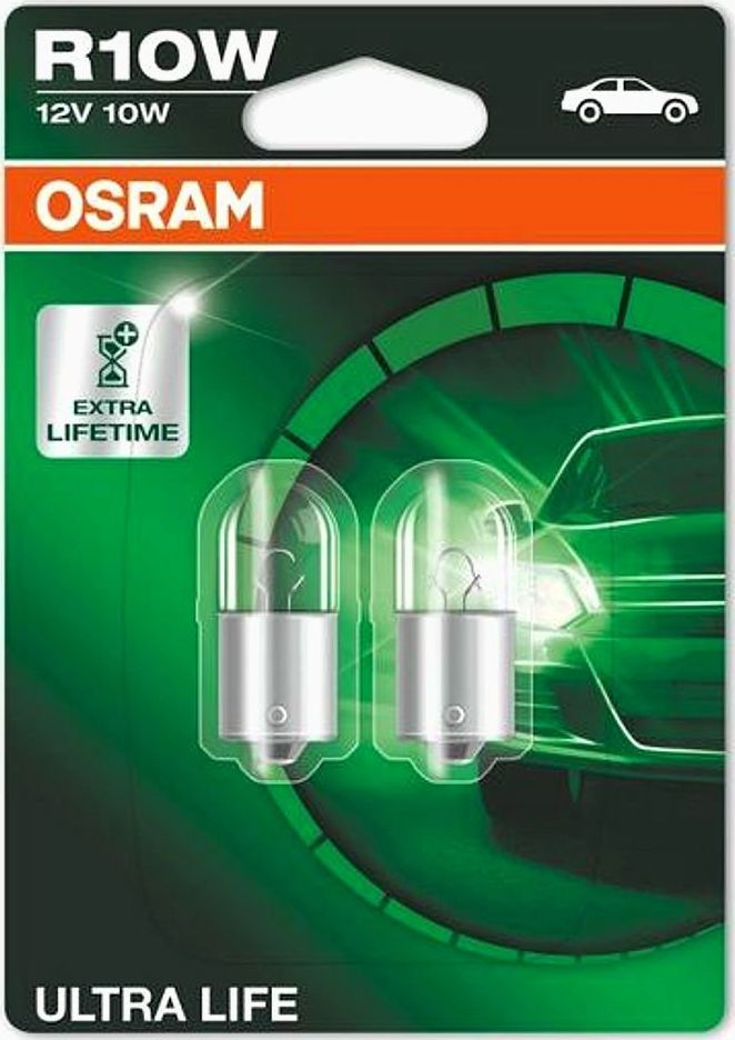 Osram OSRAM autožárovka R10W ULTRA LIFE 12V 10W BA15S (Blistr 2ks) 1