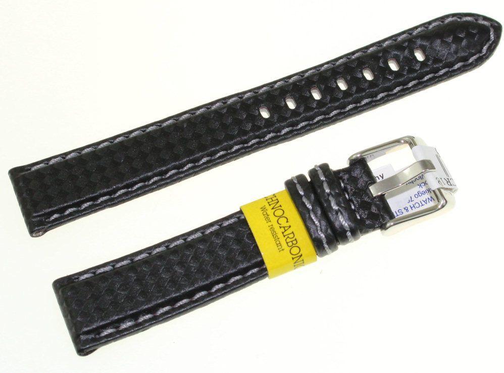 Morellato Karbonowy wodoodporny pasek do zegarka 18 mm Morellato A01U3586977891CR18 1