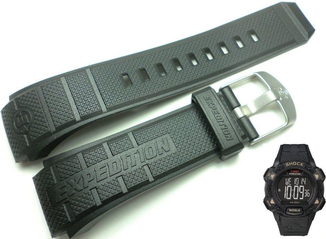 Timex Pasek do zegarka Timex T49896 P49896 22 mm Tworzywo 1