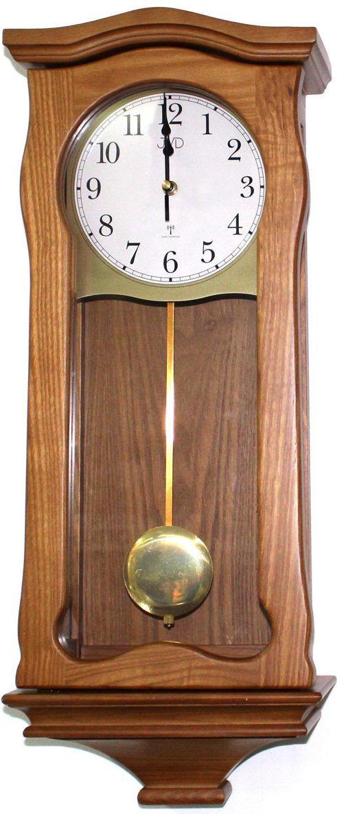 JVD Zegar ścienny z kurantami, drewniany 1