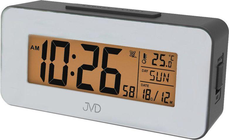 JVD Budzik RB9334.2 Termometr DCF77 Dni Tygodnia PL 1