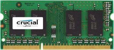 Pamięć do laptopa Crucial SODIMM, DDR3L, 4 GB, 1600 MHz, CL11 (CT51264BF160BJ) 1